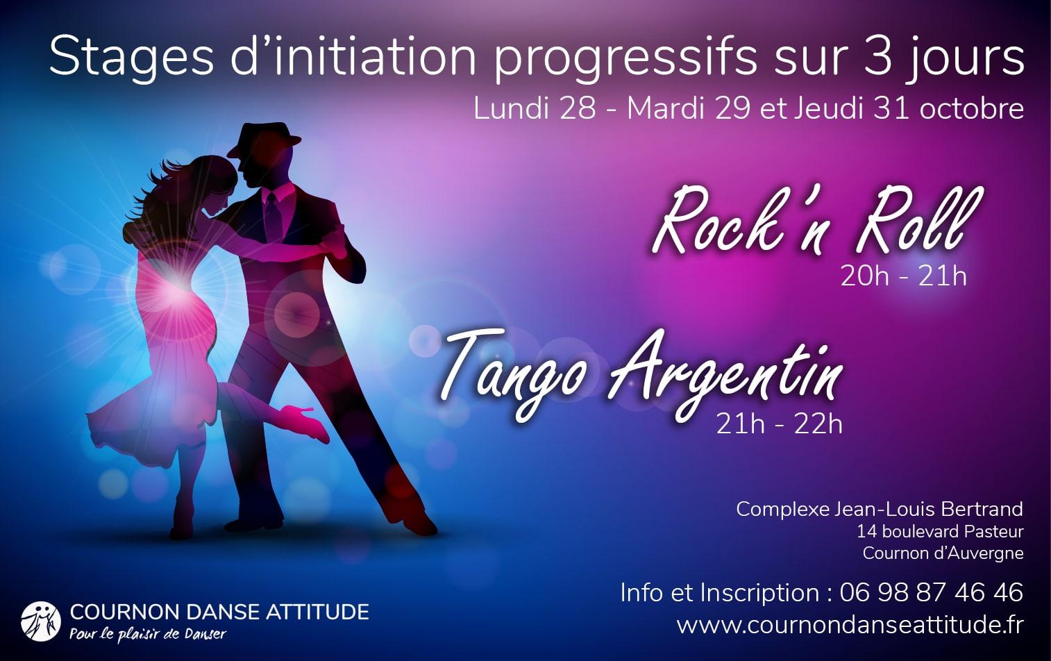 Stage Rock Tango toussaint